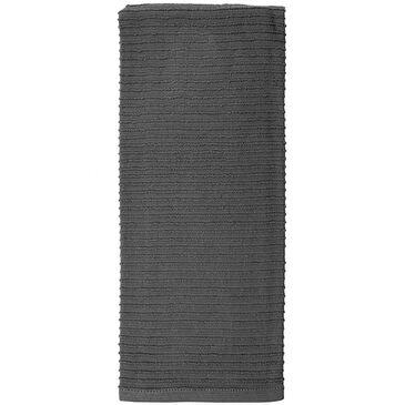 Mukitchen Rigged Cotton Towel in Platinum, , large