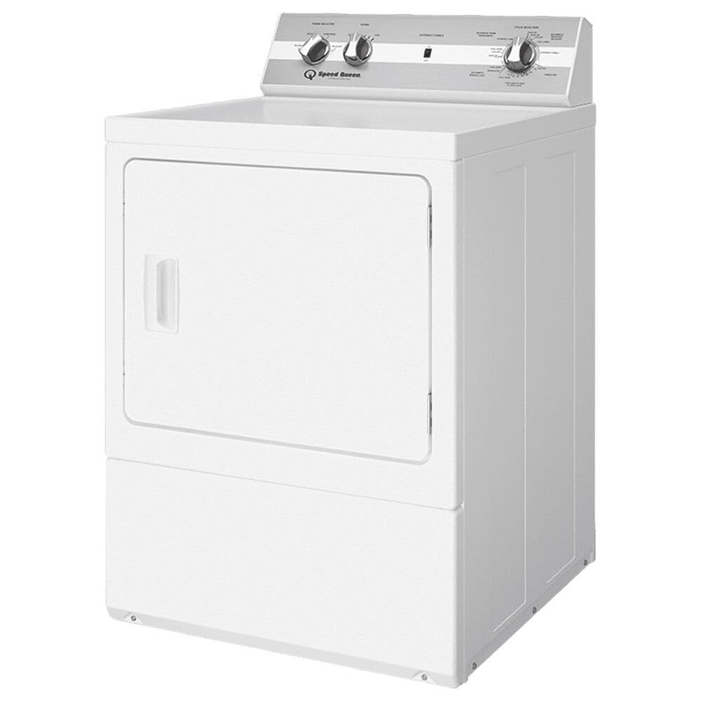 Speed Queen 3.2 Cu. Ft. Top Load Washer and 7.0 Cu. Ft. Electric Dryer Laundry Pair in White, , large