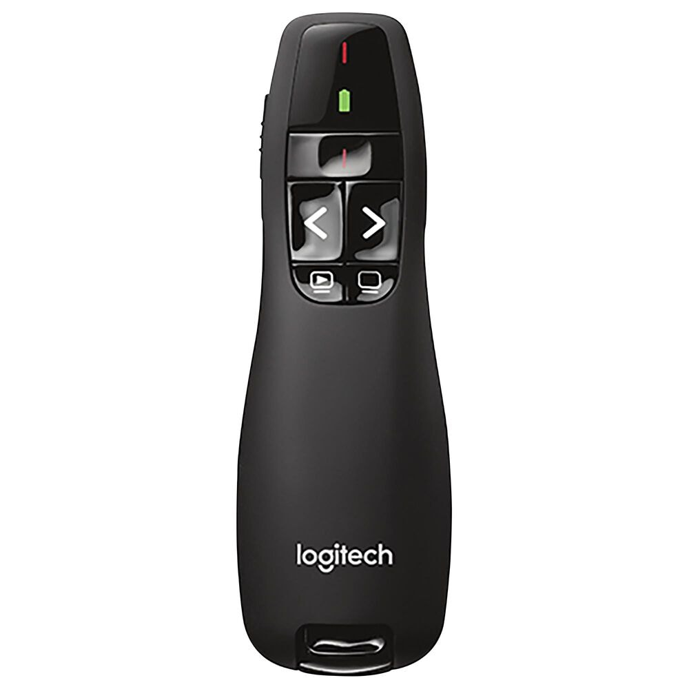 Logitech Wireless Laser Presenter Remote in Black, , large
