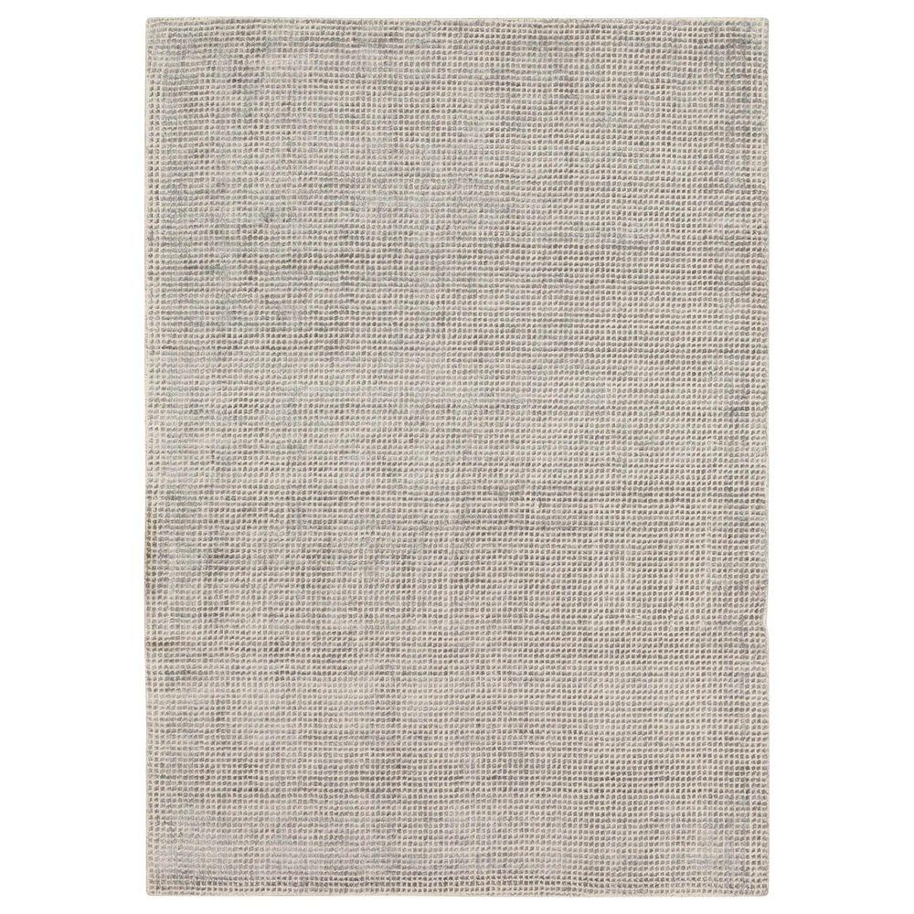 Karastan Labyrinth RG176-945 8' x 10' Matrix Steel Grey Area Rug, , large