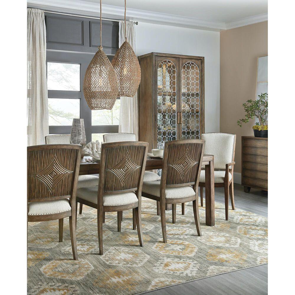 "Hooker Furniture Sundance Rectangle Dining Table with 18"" Leaf in Cliffside, , large"