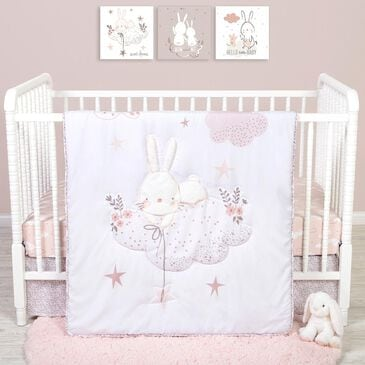 Trend Labs Sammy and Lou Cottontail Cloud 4-Piece Crib Bedding Set, , large