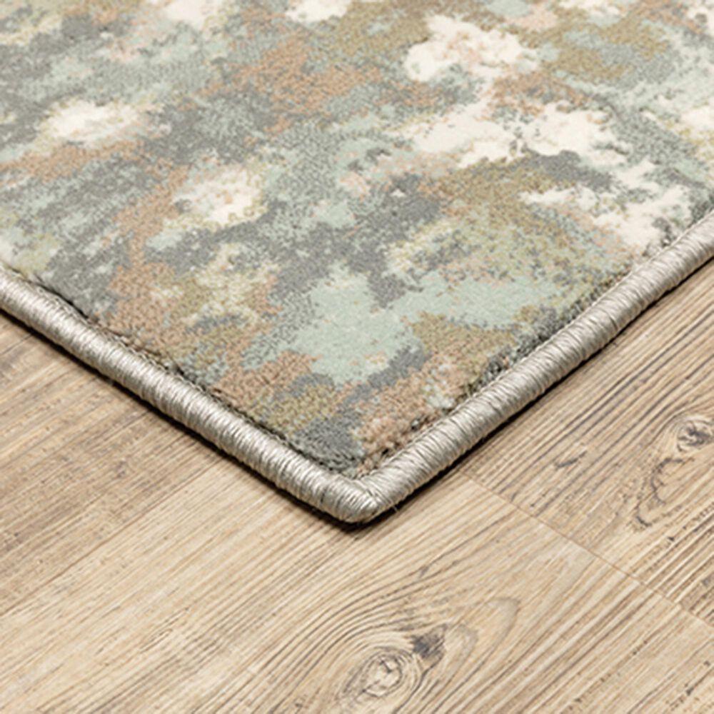 "Oriental Weavers Capistrano Distressed 535B1 6'7"" x 9'6"" Ivory Area Rug, , large"