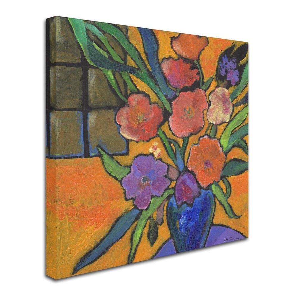 Timberlake Sheila Golden 'The Purple Table' Canvas Art, , large