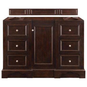 "James Martin De Soto 48"" Single Bathroom Vanity Cabinet in Burnished Mahogany, , large"