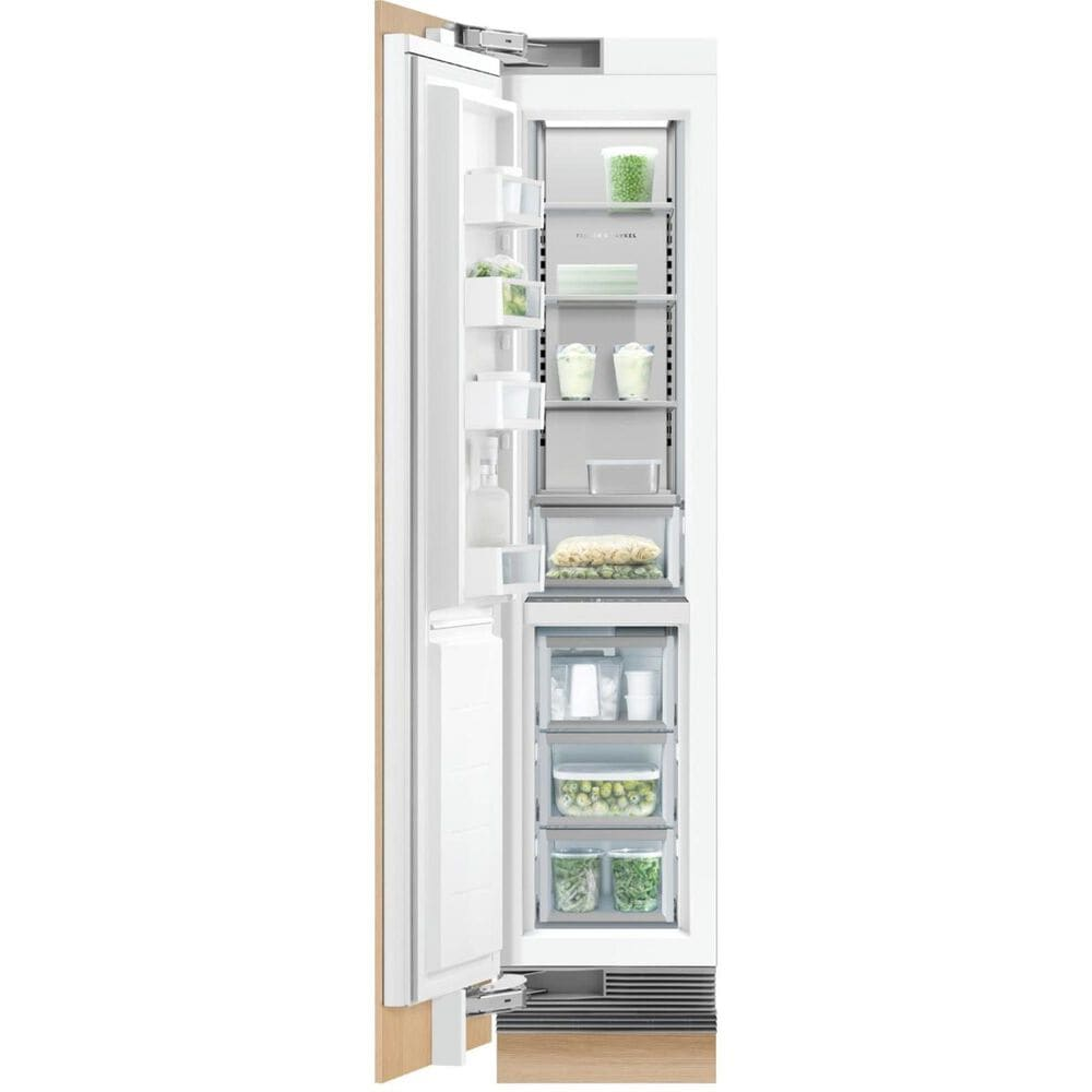 """Fisher and Paykel 18"""" Integrated Column Freezer with Icemaker on Left Hinge , , large"""