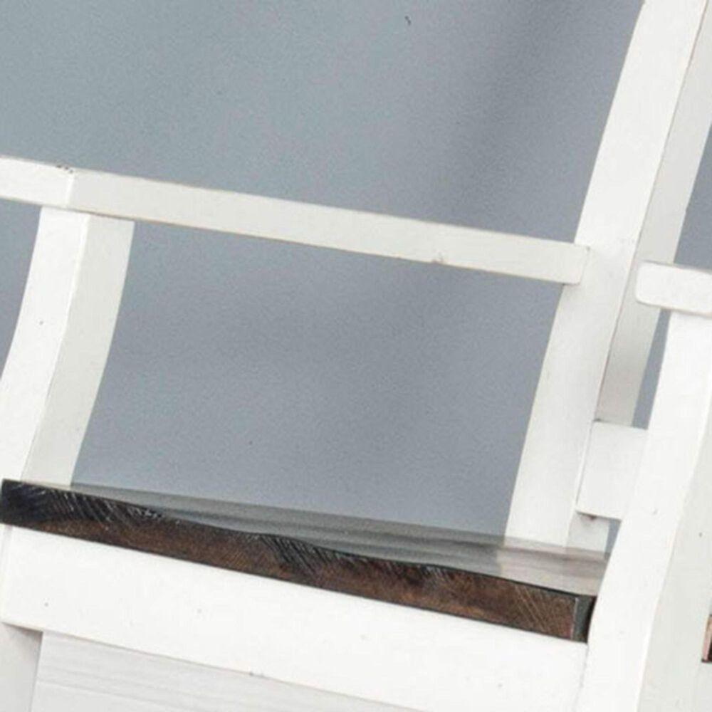 Sunny Designs Carriage House Slat Back Rocker in European Cottage Antique White, , large
