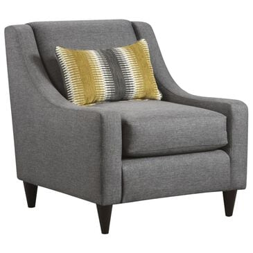 Xenia Maxwell Chair in Gray, , large