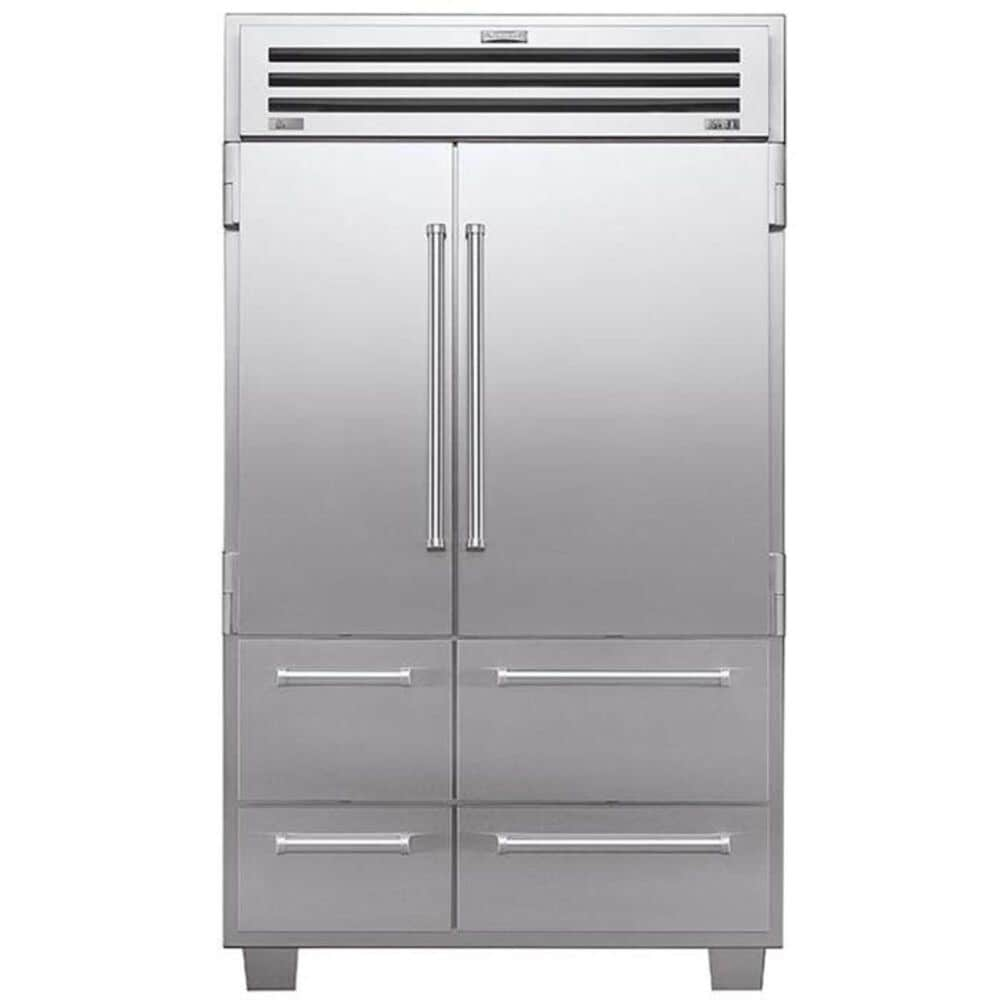 "Sub Zero PRO 48 Built-In 48"" Side-By-Side Stainless Steel Refrigerator, , large"