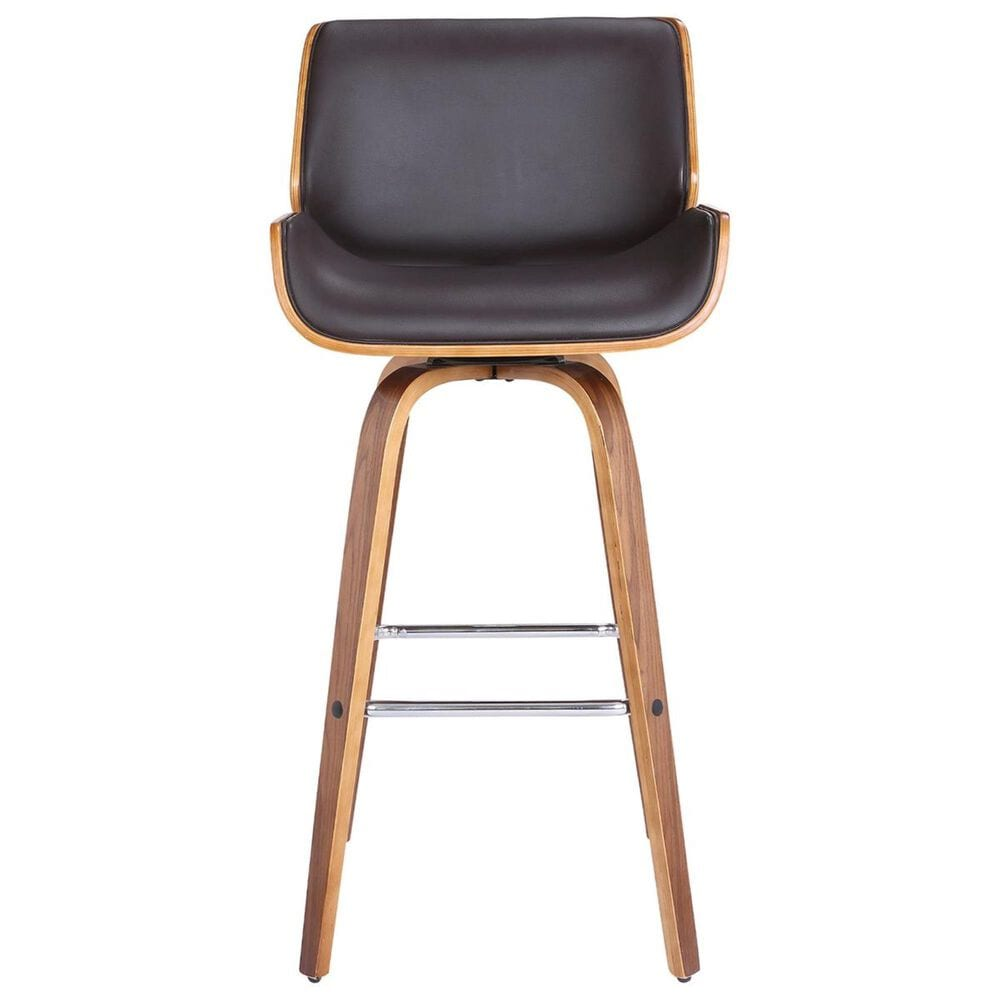 """Blue River Tyler 30"""" Swivel Bar Stool in Brown and Walnut, , large"""