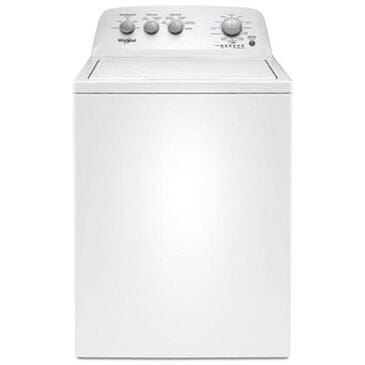 Whirlpool 3.8 Cu Ft Top Load Washer in White, , large
