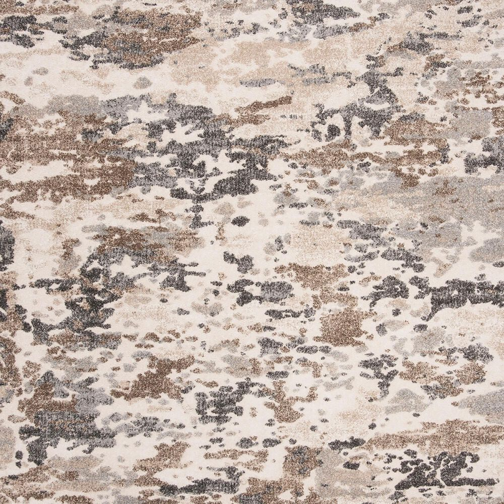 Safavieh Spirit SPR123A 2' x 8' Taupe and Ivory Runner, , large