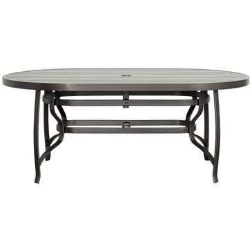 """Woodard Cayman Isle 42"""" X 72"""" Oval Dining Table in Dark Brown, , large"""