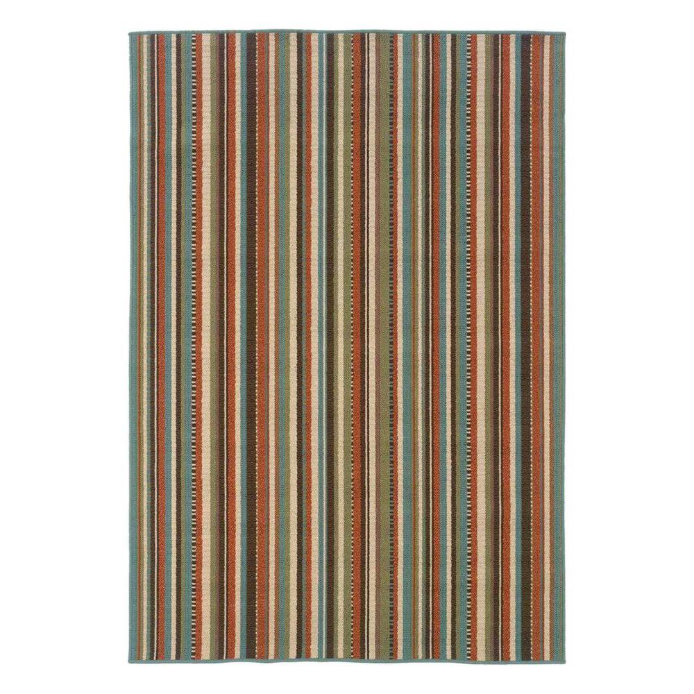 "Oriental Weavers Montego 6996C 5'3"" x 7'6"" Green Outdoor Rug, , large"
