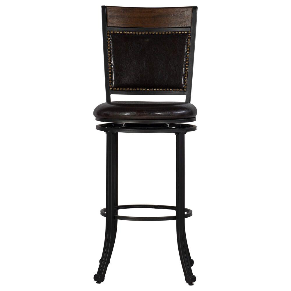 """Parkerville Furniture Line Franklin 29"""" Swivel Bar Stool in Dark Brown, , large"""