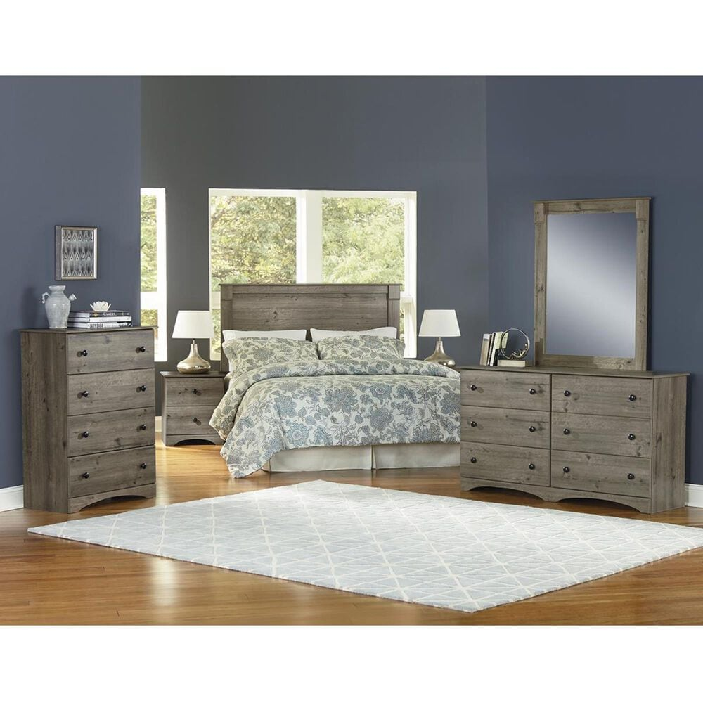"""Lemoore Essential 58"""" 6 Dresser in Weathered Gray Ash, , large"""
