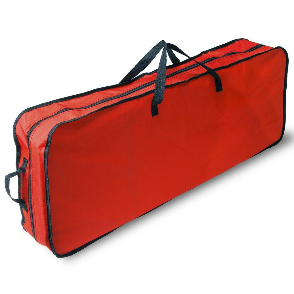 National Tree Red Gift Wrap Storage Organizer, , large