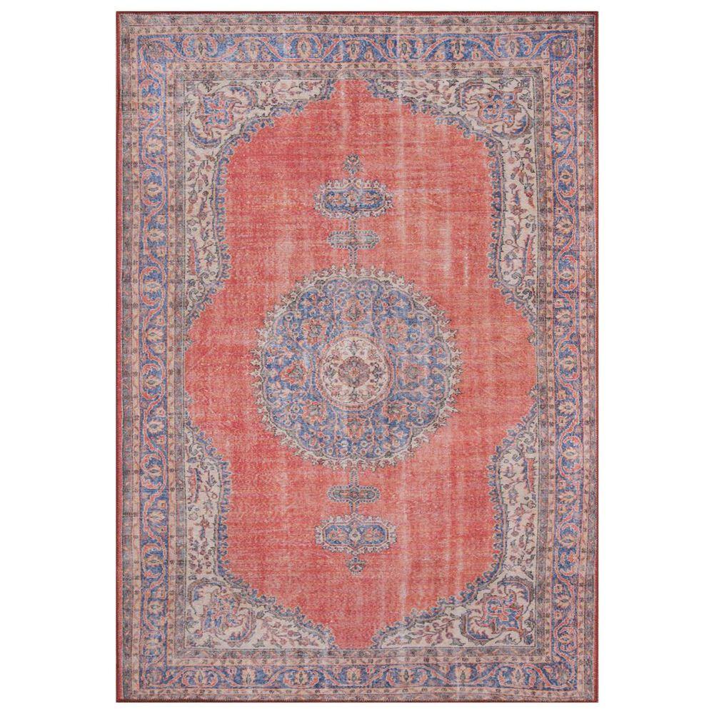 Momeni Afshar AFS-12 3' x 5' Red Area Rug, , large
