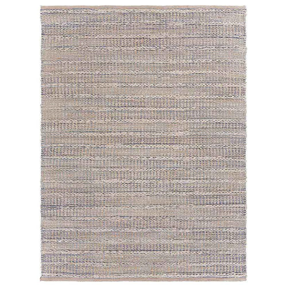 """L&R Resources Bleached Naturals 5' x 7'9"""" Blue Area Rug, , large"""