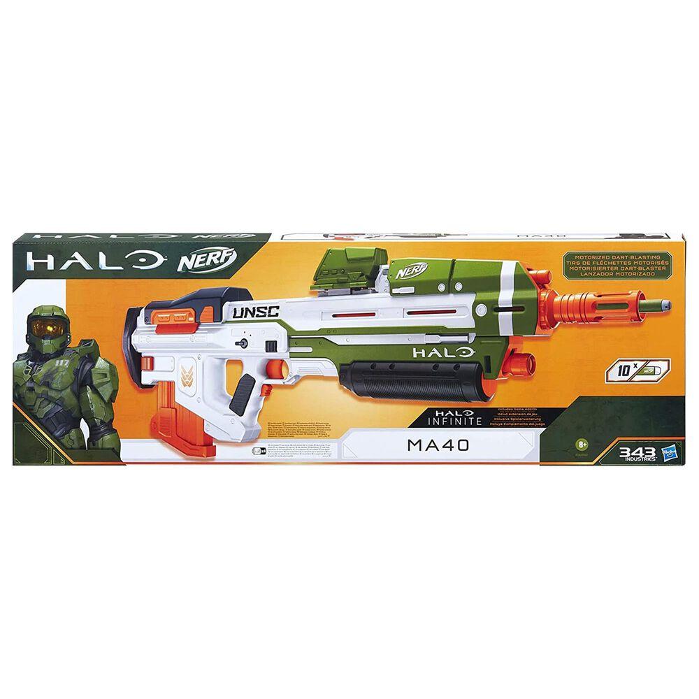 Hasbro Nerf Halo MA40 Motorized Dart Blaster, , large
