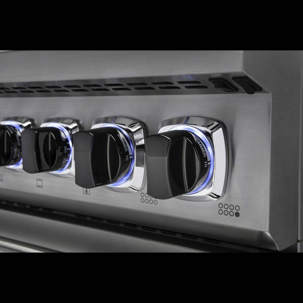 "Viking Range 48"" Freestanding Dual Fuel Range with 8 Burners in Stainless Steel, , large"