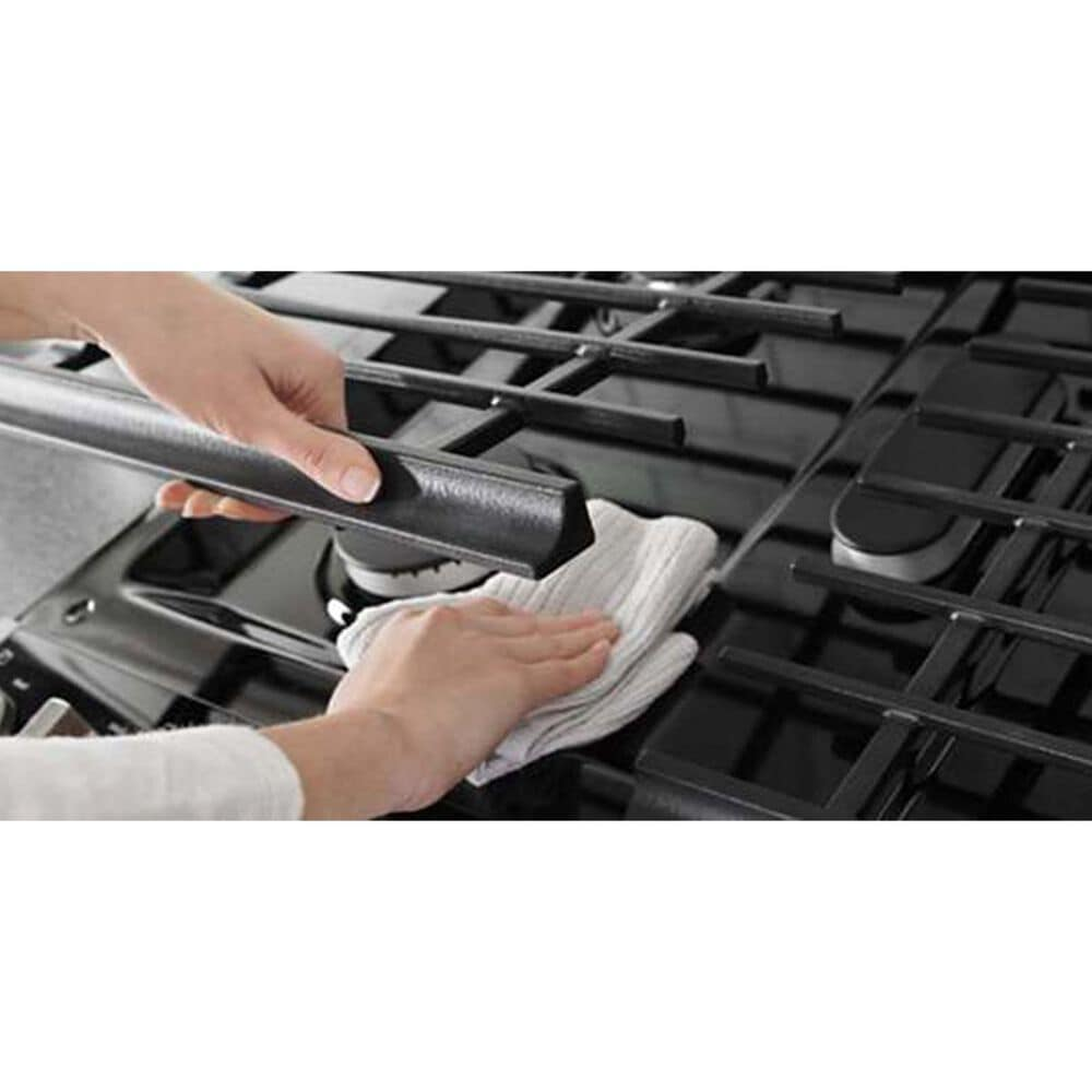 Whirlpool 5.8 Cu. Ft. Slide-In Gas Range with EZ-2-Lift Hinged Grates Fingerprint in Stainless Steel, , large
