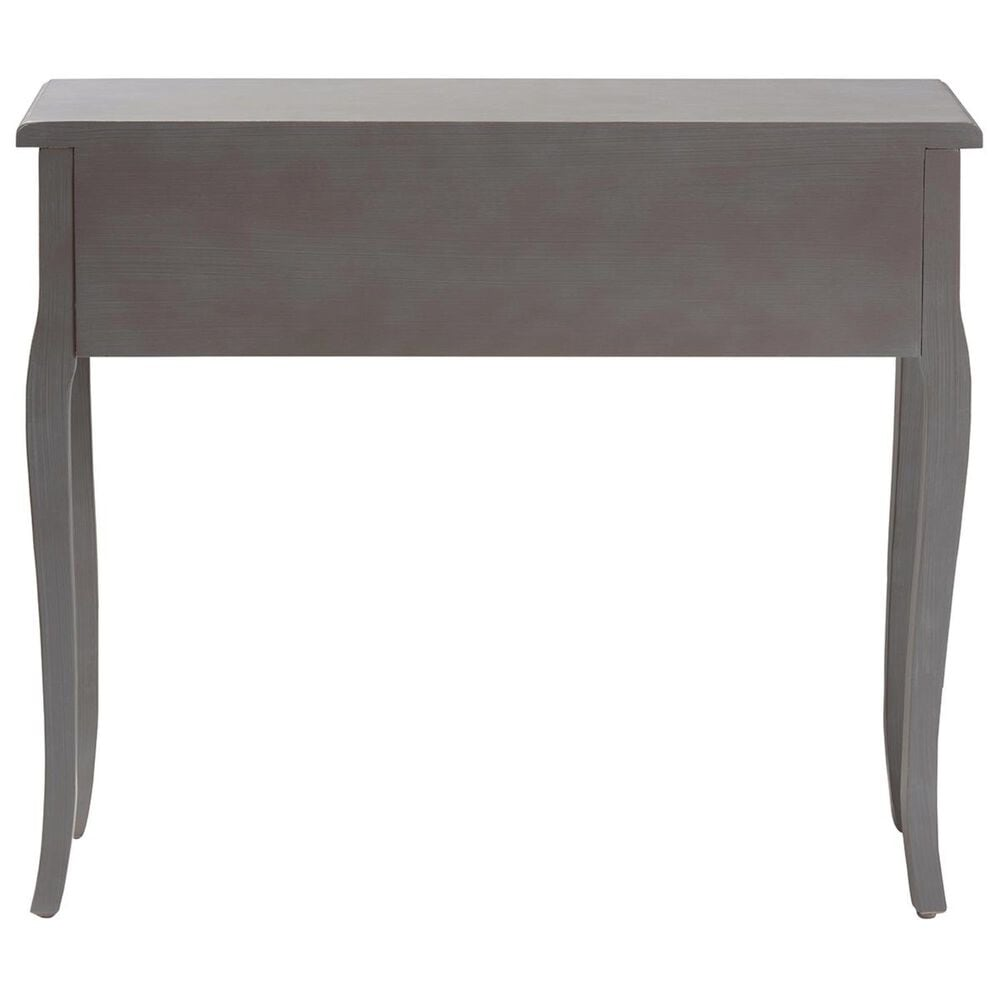 Baxton Studio Capucine 2-Drawer Console Table in Gray, , large