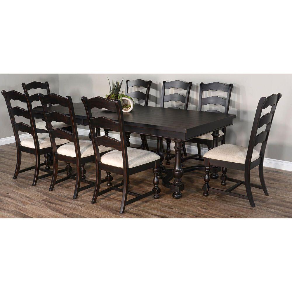 Sunny Designs Scottsdale Ladderback Chair in Black Walnut, , large