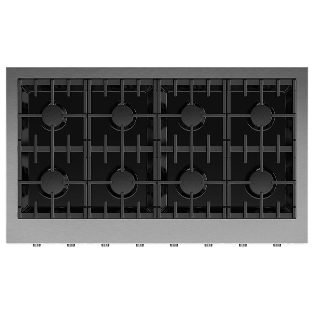 """Fisher and Paykel 48"""" Liquid Propane Gas Rangetop with 8-Burner in Stainless Steel, , large"""