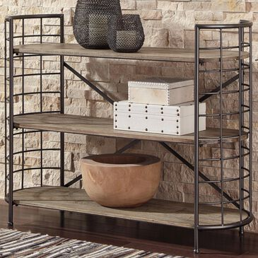 Signature Design by Ashley Flintley Console in Brown and Gray Wash, , large