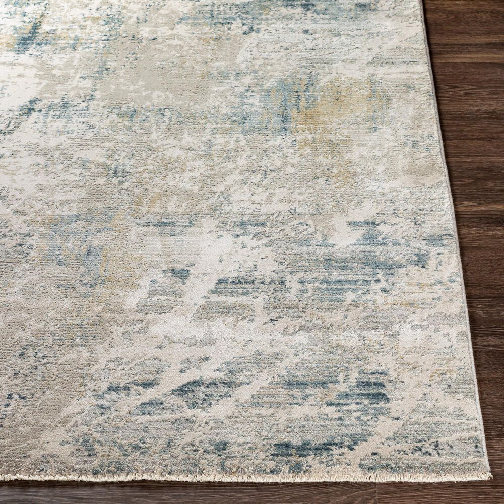 Surya Brunswick 2' x 3' Blue, Sage, Olive and Gray Area Rug, , large