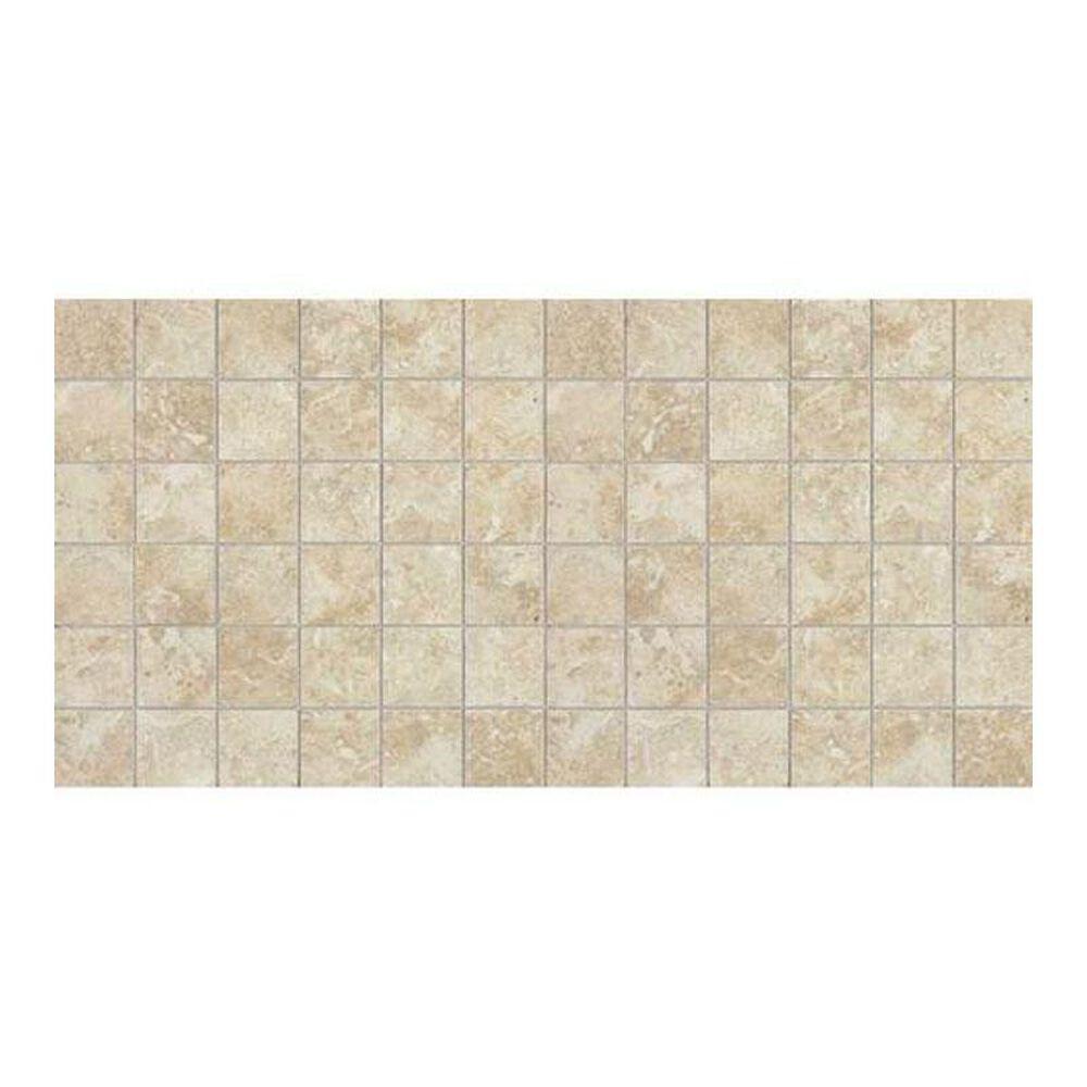 """Dal-Tile Heathland Sunrise 12"""" x 24"""" Ceramic Mosaic Sheet, , large"""