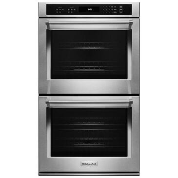 """KitchenAid 27"""" Double Wall Oven with Even-Heat Thermal Bake/Broil, , large"""