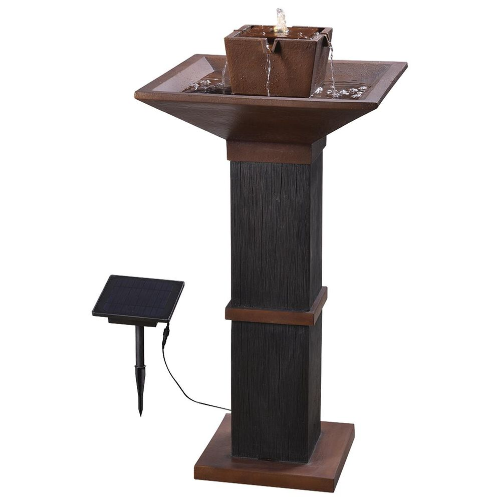 Kenroy Kyoto Solar Fountain in Copper and Bronze, , large
