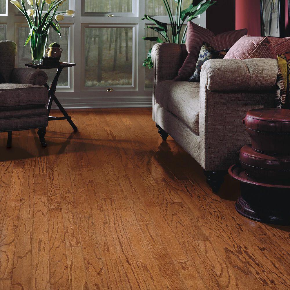 Bruce Hardwood Flooring Springdale Plank Butterscotch Oak Hardwood, , large