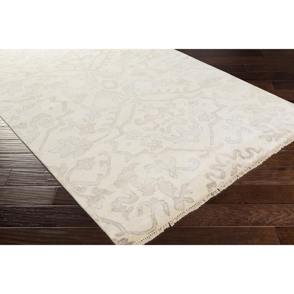 """Surya Hillcrest HIL-9040 5'6"""" x 8'6"""" Camel, Gray and Taupe Area Rug, , large"""