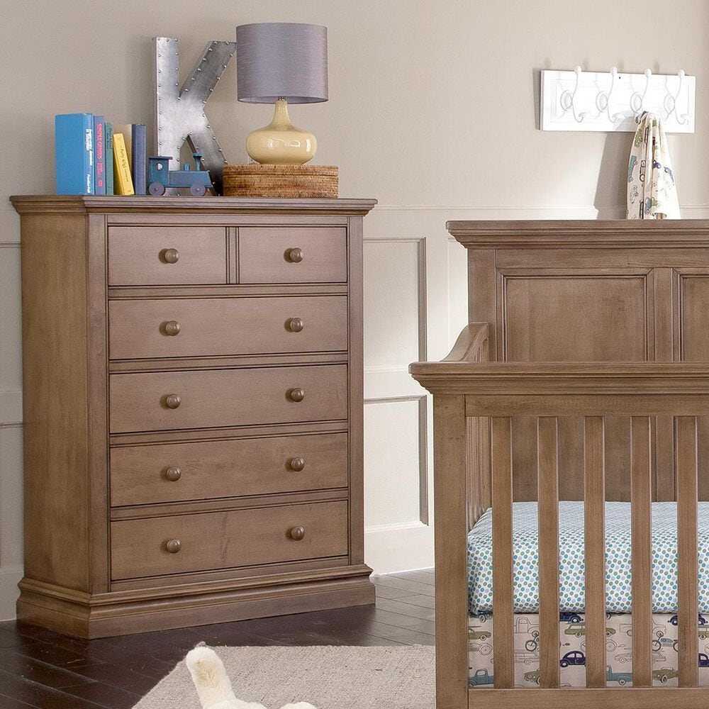 Eastern Shore Stone Harbor Crib, Dresser and Chest in Cashew, , large