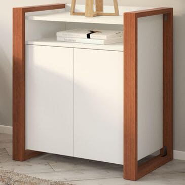Bush Voss 2-Door Accent Storage Cabinet in Cotton White, , large