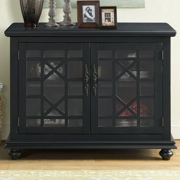 Martin Svensson Home Cassandra Small Spaces TV Stand in Antique Black, , large