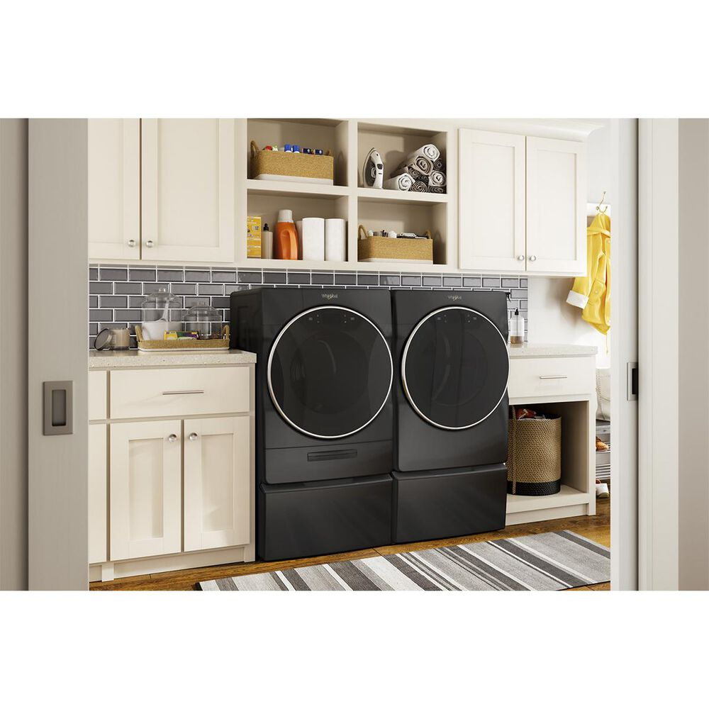 """Whirlpool 15.5"""" Laundry Pedestal in Black, , large"""