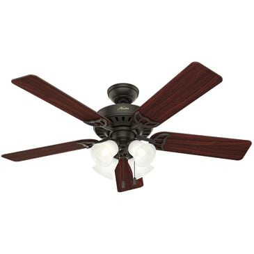 "Hunter Studio Series 52"" Ceiling Fan with Light Kit in New Bronze, , large"