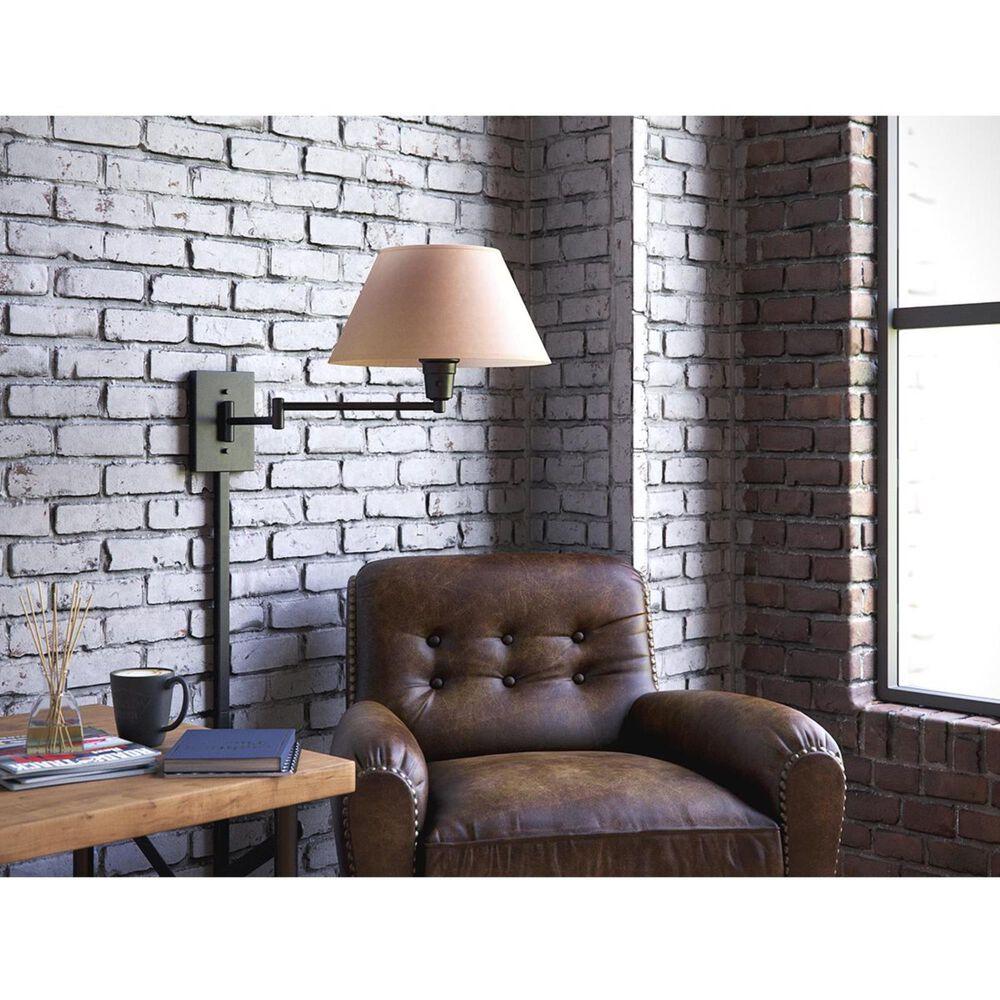 Kenroy Simplicity Wall Swing Light in Matte Black, , large
