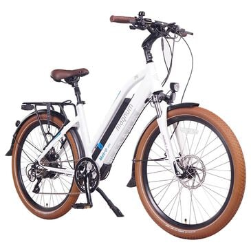Magnum Metro Electric Low Step Bike in Matte White, , large