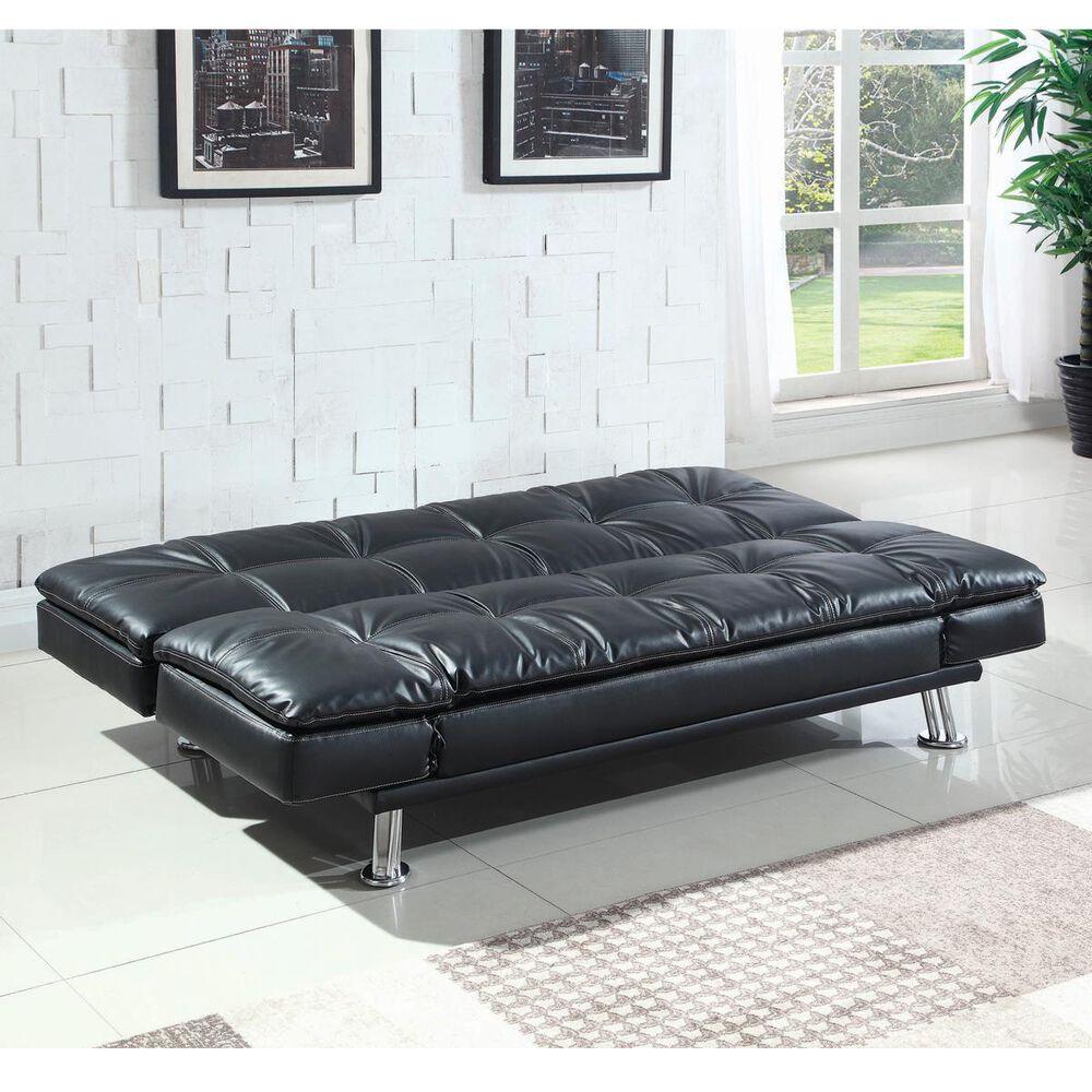 Pacific Landing Dilleston Convertible Sofa in Black, , large