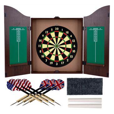 Timberlake Dartboard Cabinet Set, , large