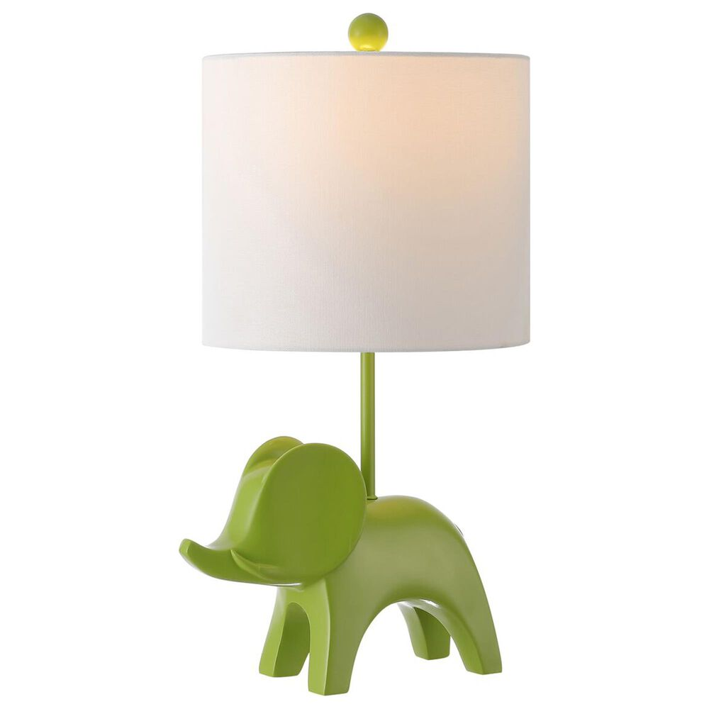 Safavieh Ellie Elephant Table Lamp in Green, , large