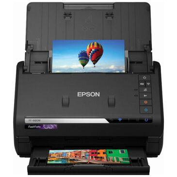 Epson FastFoto FF-680W Wireless Document Duplex Scanner, , large