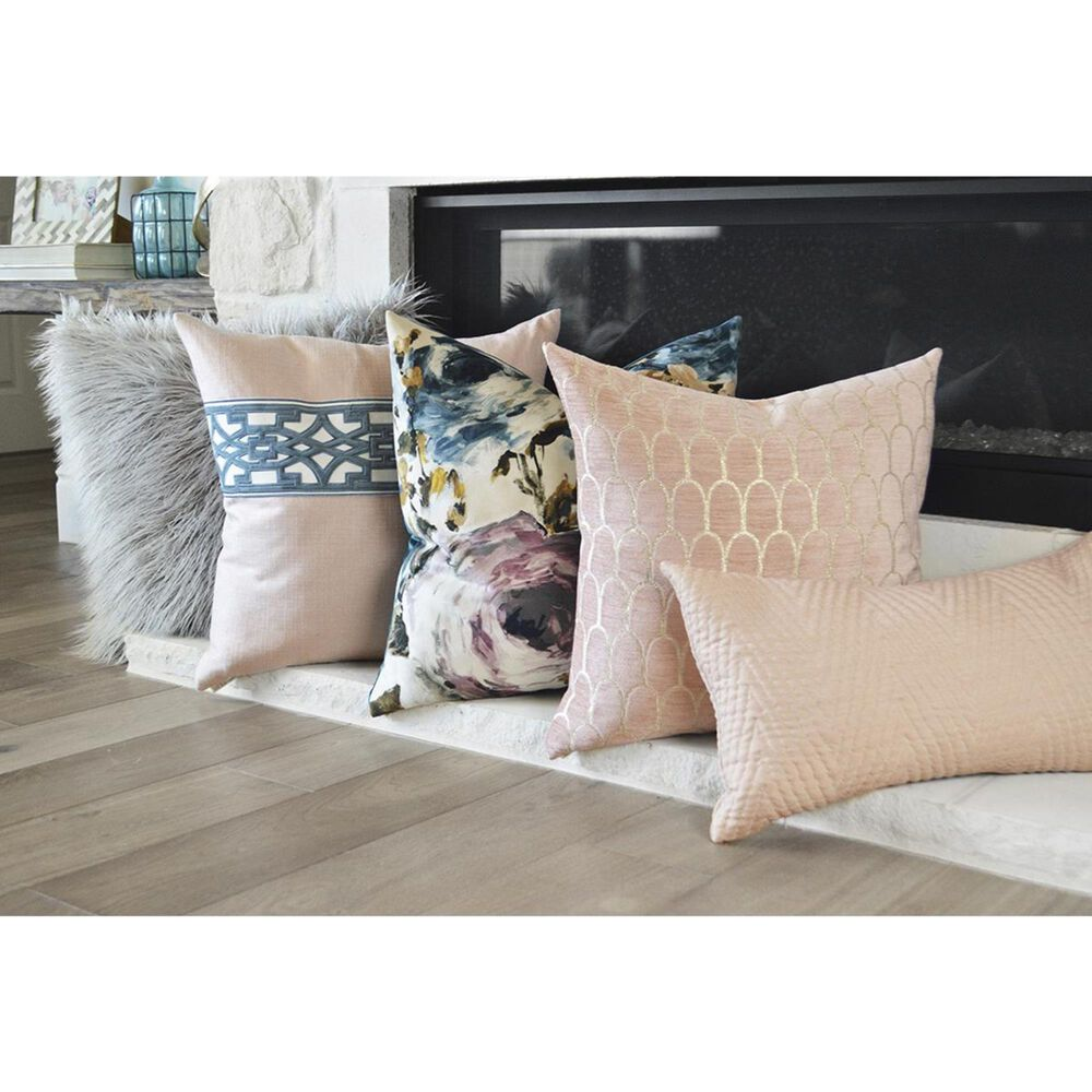 """D.V.Kap Inc 24"""" Feather Down Decorative Throw Pillow in Paradiso, , large"""