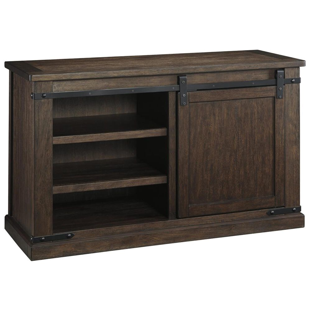 Signature Design by Ashley Budmore Medium TV Stand in Rustic Brown, , large