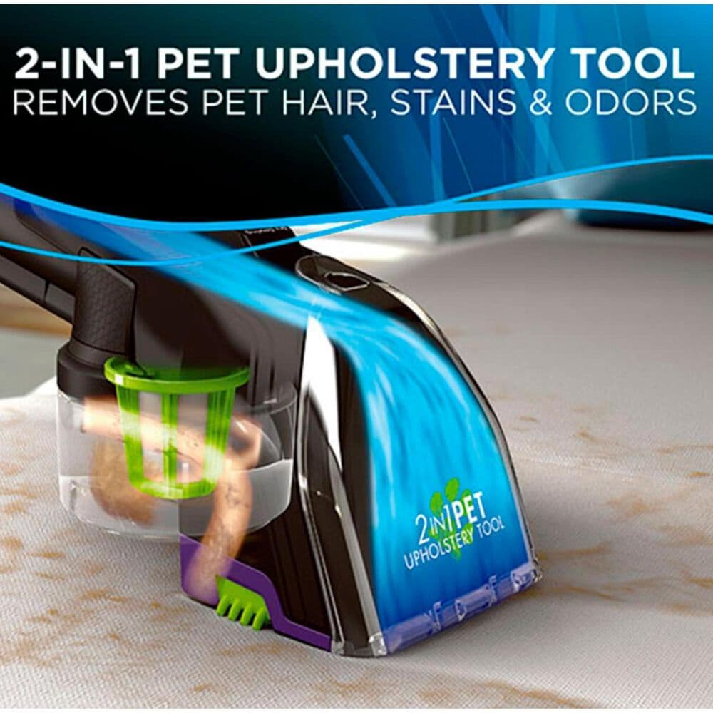 Bissell ProHeat 2X Revolution Pet Pro Carpet Cleaner and Deep Clean and Refresh Carpet Cleaning 60 Oz Formula Floor Care Package, , large